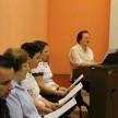 Pastoral ACF Momento junto aos colaboradores