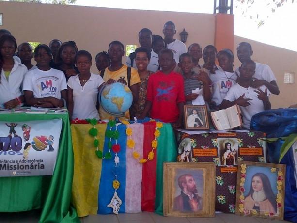Dia Mundial das Missões 2013 - Paróquia São Lucas