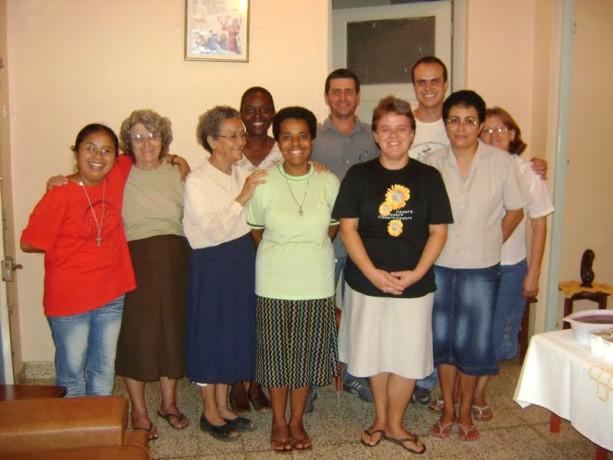 Missionários da paróquia
