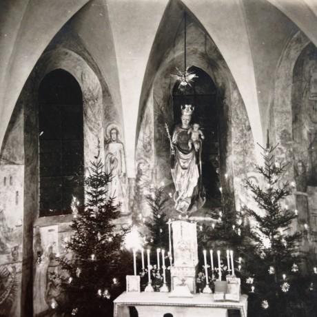A Capela do Convento na década de 30