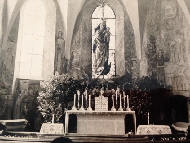 Capela da Casa Mãe, década de 40
