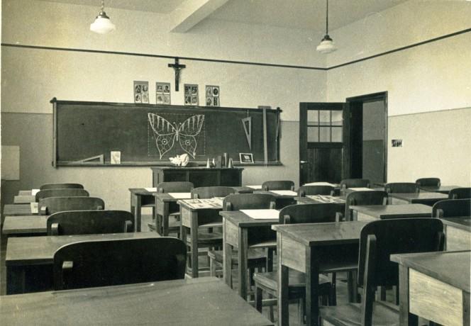 Sala de aula do Colégio Nossa Senhora Aparecida