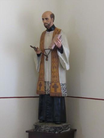Santo Inácio, padroeiro da comunidade