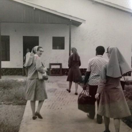 Chegada das Irmãs na missão do Norte
