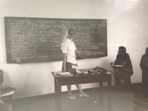 Irmã Erica, pioneira da missão no Pará