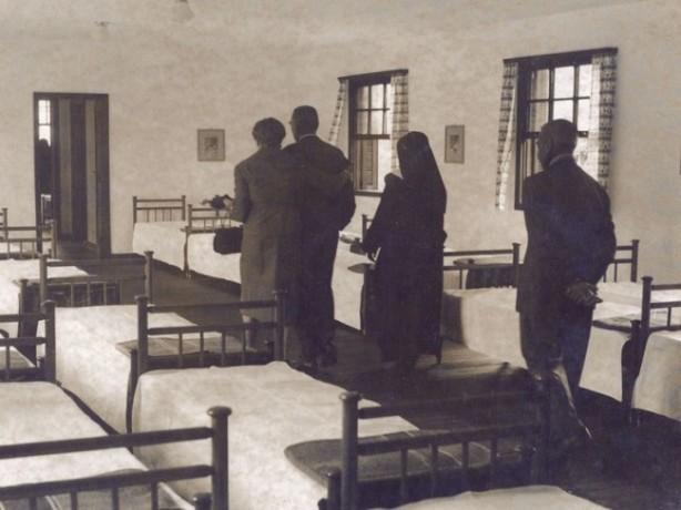 Dormitório das Internas no Lar Maria Albertina