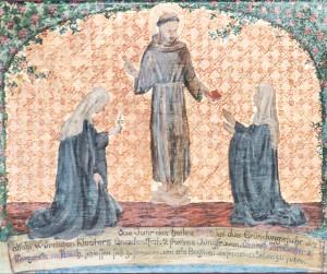 Diemuth e Margareth abraçam a vida de simplicidade típica dos franciscanos - Ir. Euphemia Blasche
