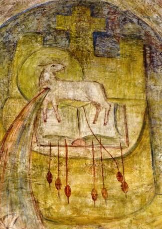 O Cordeiro, símbolo oficial da Casa-Mãe e da região brasileira da Congregação