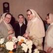 Ir. Adelgundis, Ir. Raquel, Ir. Edigna e Ir. Iolenta nos 25 anos do Colégio Santo Inácio