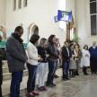 Acolhida dos missionários na Paróquia Espírito Santo