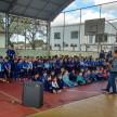 Visita na Escola Municipal Ana de Barros