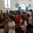 Sábado de manhã foi dedicada para as crianças da Catequese